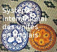 système international , traduction en anglais