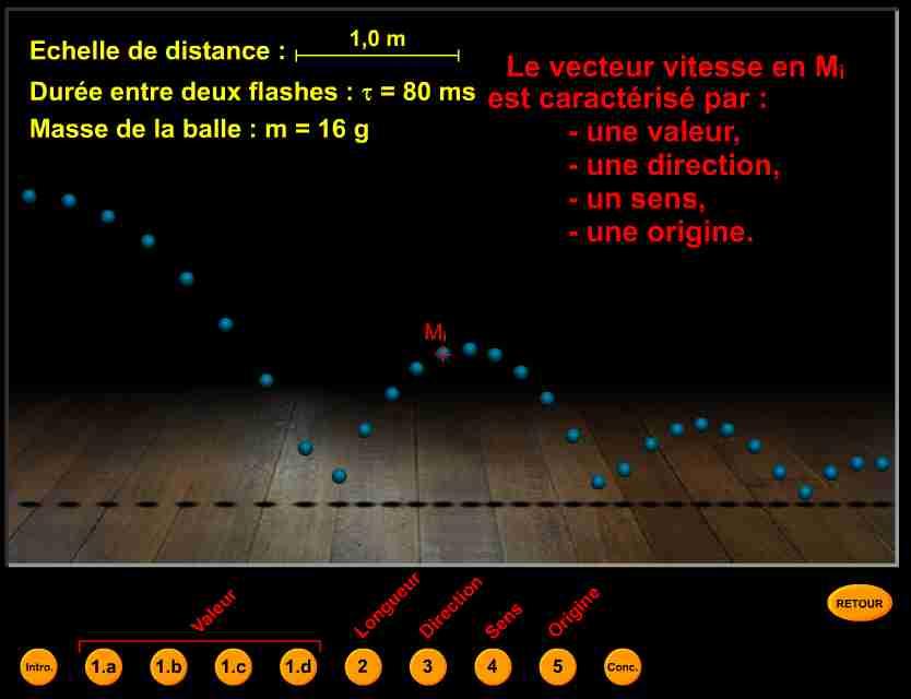 logiciel de traçage de vecteurs vitesses