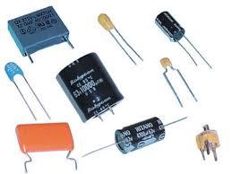 les différentys types de condensateurs