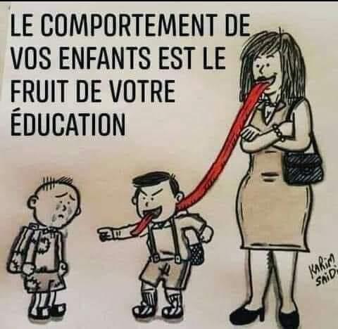 comportement de vos enfants