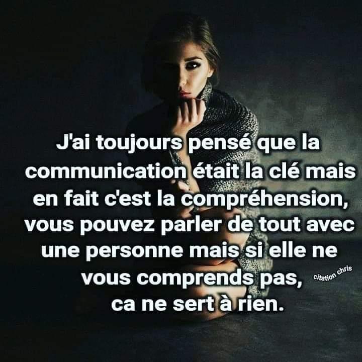 Communication ou compréhension