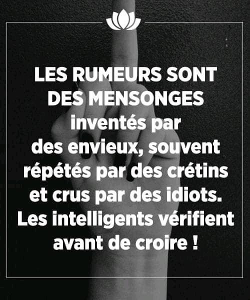 les rumeurs